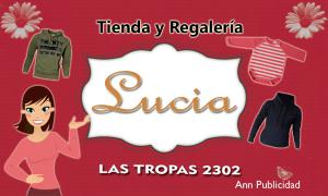 tarjeta lucia 2015 a imprimir